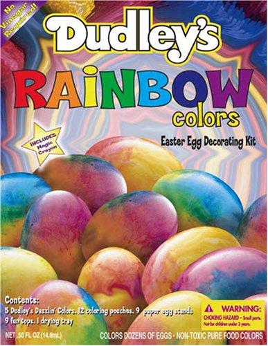 Dudley 'S Rainbow Farben Ostern Ei Dekorieren Kit