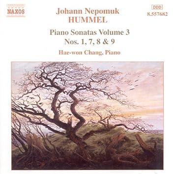 Hummel: Piano Sonatas, Vol. 3 - Nos. 1, 7, 8, 9