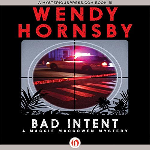 Bad Intent audiobook cover art