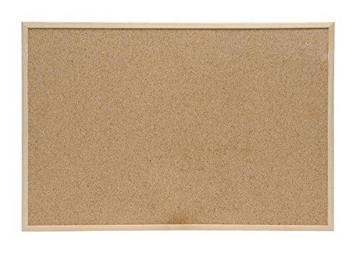 5 Star Office 906705 - Tabla de corcho con marco de madera (60 x 40 cm), color marrón