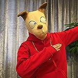 Maske Halloween Tier Maske Männchen Cos Pferdekopf Schwein Acht Ringe Orang-Utan Husky Hundekopf Elefant Boogie Hunde Code