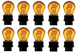 3157A (Amber) Bulb Auto Bulb Automotive Bulb - Pack of 10