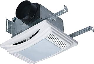 Panamex DLF90 Daylight Series Fan/Light/Nightlight with Fluorescent Bulb Air Zone Bathroom Exhaust Fan - 90CFM