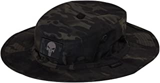 Gadsden and Culpeper Multicam-Black Tactical Patch & Boonie Bundle (2 Patches + Hat)