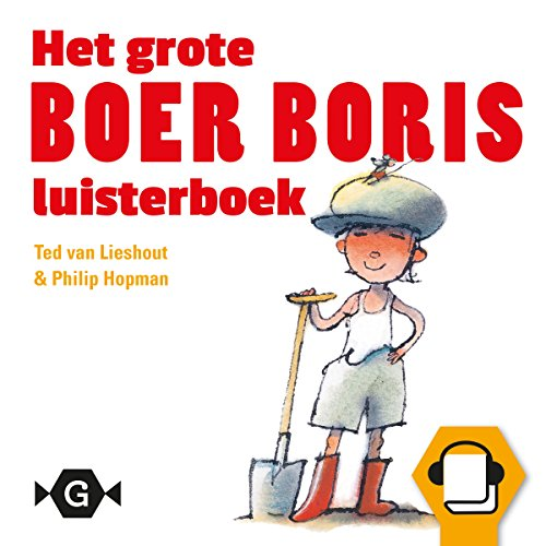 Het grote Boer Boris luisterboek Titelbild