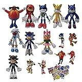 Figura de Sonic 2021sonic Sonic Supersonic Mouse Flying Mouse Gamer Office Aberdeen Modelo Muñeca De...