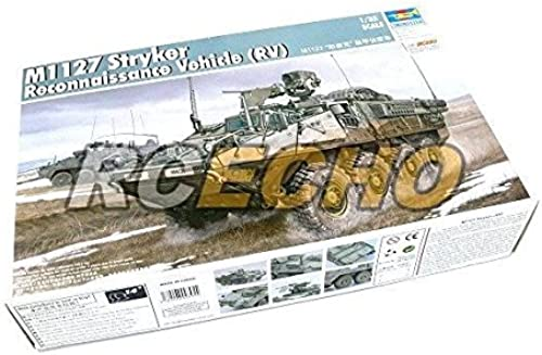 RCECHO& 174; TRUMPETER Military Model 1 35 M1127 Stryker Reconnaissance Vehicle 00395 P0395 with RCECHO& 174; Full Version Apps Edition