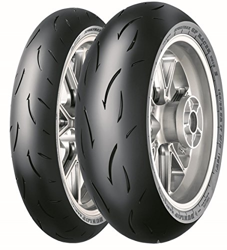 DUNLOP 200/55 ZR17 78W GP RACER D212 E TL -55/55/R17 78W - A/A/70dB - Moto Pneu