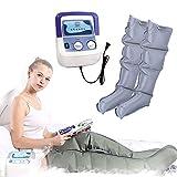 Air Compression Massager with Handheld Controller for Waist Leg Arm Relieve Fatigue Relax The Leg Muscles,3 Modes Timing Function Elderly Pneumatic Leg Massager (1*Pump + 2*Leg)