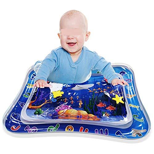 Tapis de Jeu Aquatique Temps Gonflable Tummy Tapis de Jeu for bébé Eau for Tout-Petits bébés Nouveau-nés Tapis de Jeu Haut de Gamme Eau Enfants Fun sensorielle Jouets Cadeau