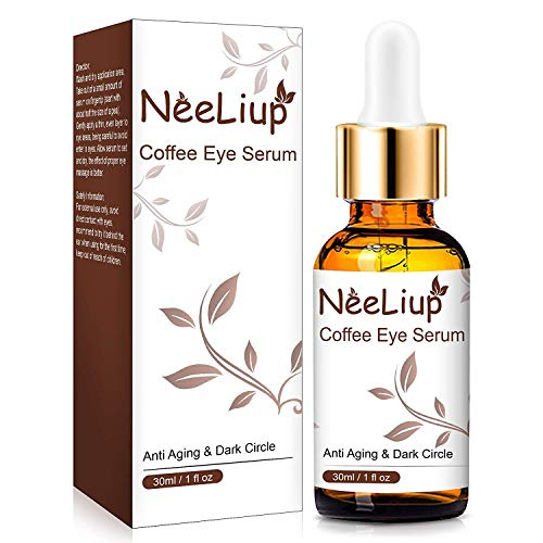 Under Eye Serum for Dark Circles and Puffiness, Eye Bag Treatment, Anti Aging & Wrinkles, Glycerin & Caffeine Eyes Serum for Men Women, Hydrating Eye Cream with Hyaluronic Acid for Fine Lines