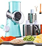 Best Cheese Shredders - Cheese Grater Rotary Cheese Shredder Mandoline Slicer 3-in-1 Review