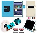 reboon booncover Tablet Hülle | u.a. für Google Nexus 7, HP Slate 7 | beige Gr. S2 | Tablet Tasche, Standfunktion, Kfz Tablet Halterung und mehr