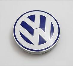 VW cubierta de cubo llanta de aleación Original cap azul / blanco (Golf IV, Bora, Polo)