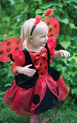 Robe Coccinelle Rouge Size S-M 3-6 ans