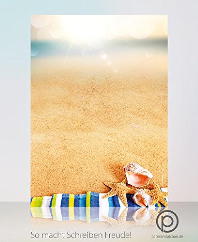 Summer Summer Summer Holiday - Set mit 100 Blatt Motivpapier und 100 passenden DIN Lang-Umschlägen B00LZRT4ZE | Heißer Verkauf  | Lebensecht  | Bestellungen Sind Willkommen  f5b014