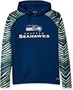 Officially licensed product of the National Football League Support your favorite team in this medium weight men's hoodie featuring a high quality, screen print logo and solid team color design Show your spirit on gameday wearing this comfortable, lo...