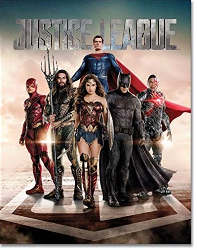 Desperate DC Comics Justice League Film Wonder Woman Superman Batman The Flash Aquaman Cyborg Dose Collectible Schild