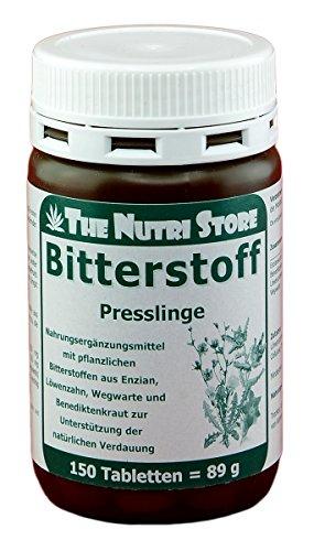 Bitterstoff Tabletten 150 Stk. - Bitterstoffen aus Enzian, Löwenzahn, Wegwarte und Benediktenkraut