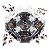 Kidnefn Atrapador de Cucarachas para Cocina Interior Atrapador de Seguridad de Protección del Medio Ambiente Atrapador de Cucarachas Reutilizable Respetuoso con El Medio Ambiente Matador