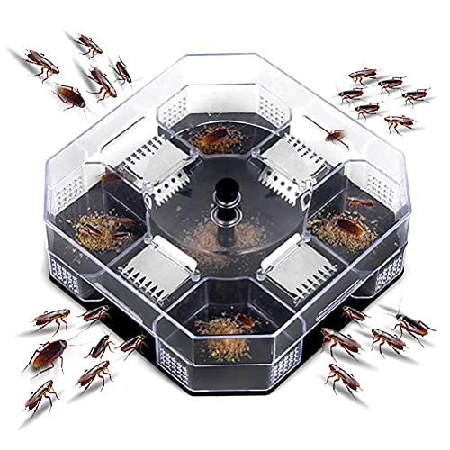 ゴキブリ捕獲器 ゴキブリトラップボックス ゴキブリよけ 生け捕り式 トラップ 物理的 効果的 環境保護 再利用可能な環境に優しいゴキブリキャッチャー