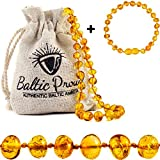 Best Amber Teething Necklaces - Baltic Amber Necklace and Bracelet Gift Set Review
