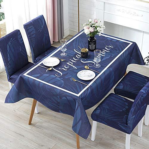LIUJIU Paño de mesa, Cubierta de tela de fibra de poliéster para boda/banquete/restaurante/banquete, 110x110cm