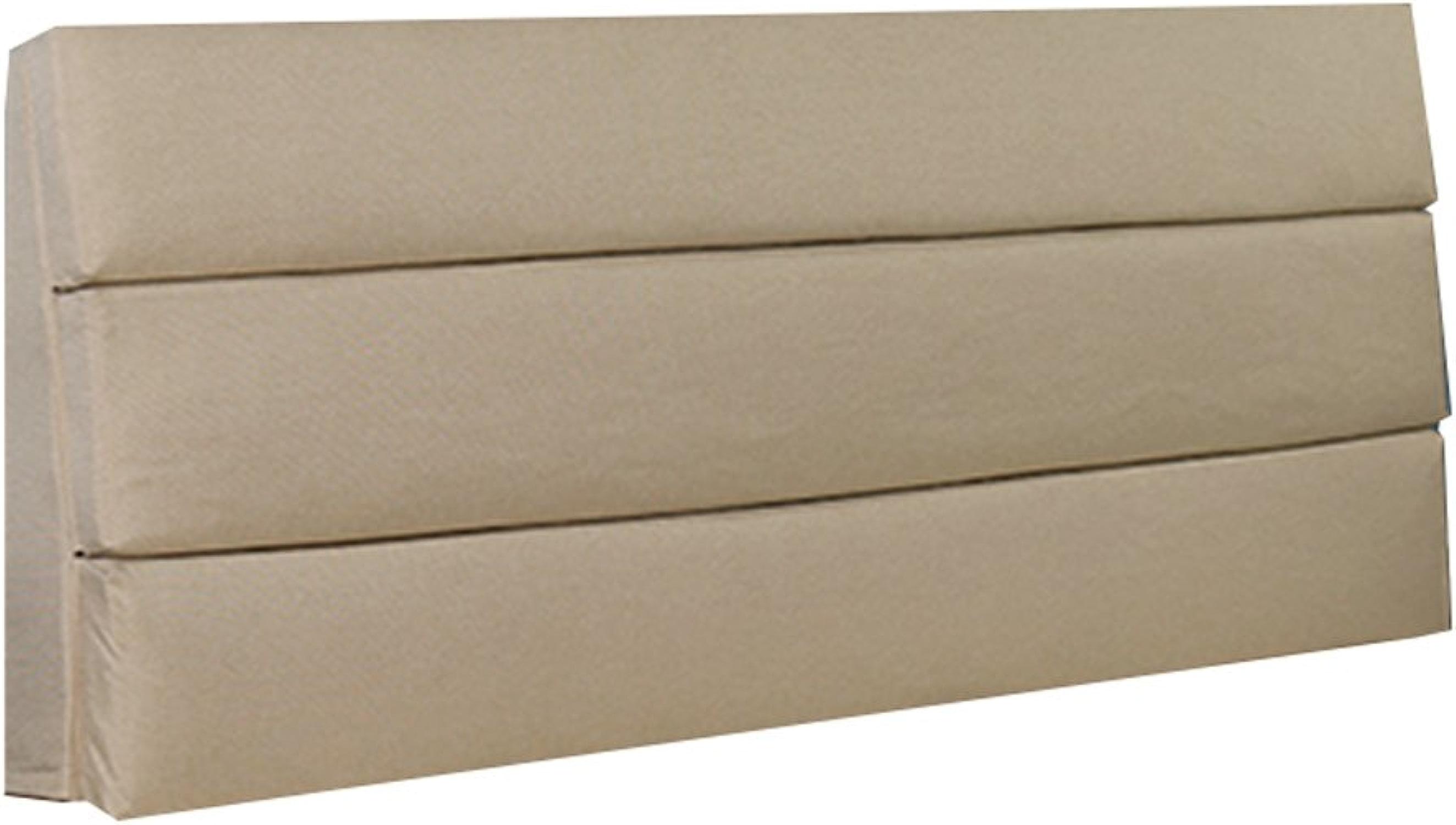 NYDZDM Tête de lit double oreiller coussin pour dossier Soft Case grand Prougeéger le cou et le dos oreiller de lecture Beige (taille   180×55×6cm)