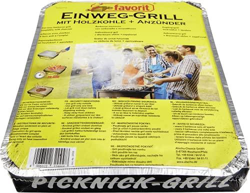 Favorit Einweg- oder Picknick-Grill 2999