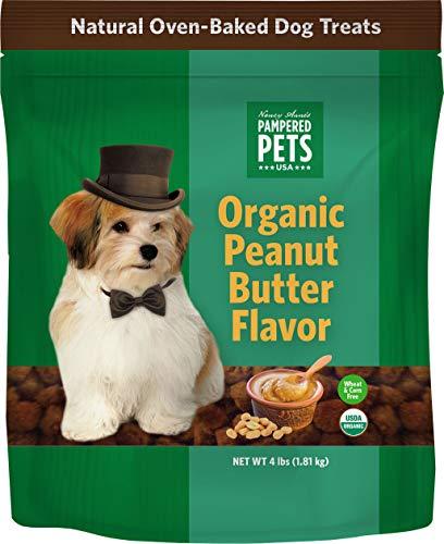 Pampered Pets Organic Peanut Butter Treats (4lb.)