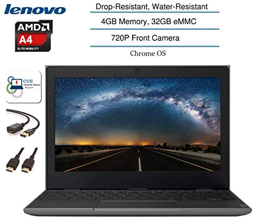 Compare Lenovo 100E 2nd Gen Chromebook (100e-4GB-32GB) vs other laptops