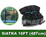 BSD Gitter für Trampoline 16FT Schwarz