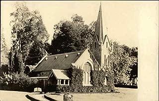 Little Church of the Flowers, Forest Lawn Memorial Park Glendale, California Original Vintage Postcard