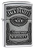 Zippo 1310011 Jack Daniel'S Label Chrome - Mechero con Relieve