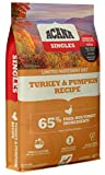 Acana Singles Limited Ingredient Dry Dog Food, Grain Free, High Protein, Turkey & Pumpkin, 13lb