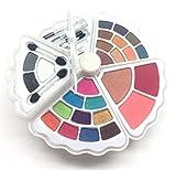 BR- All in one Makeup Set - Eyeshadows, Blush, Lip gloss Mascara and Wax (Shell, Pearl)