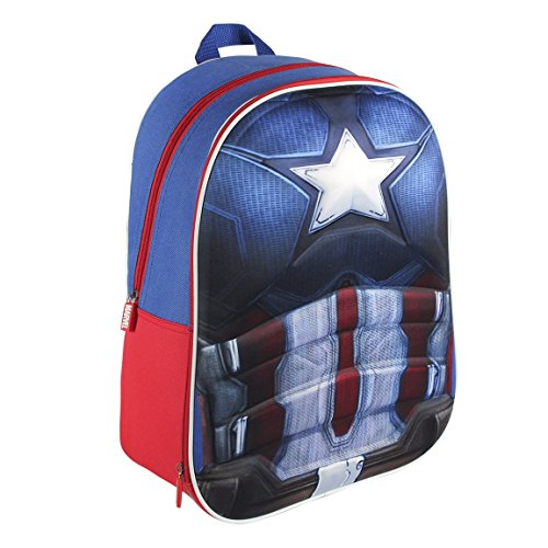 Made in Trade - Captain America Cartable 3D, 2100001566
