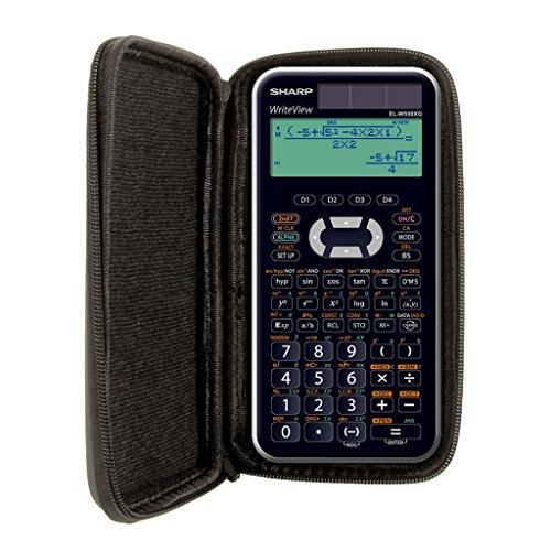 Schutztasche für Taschenrechner von Sharp, für Modell: EL W550XG