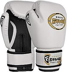 Farabi junior Starlux 4oz boxeo para niños. MMA, Muay Thai, kickboxing entrenamiento, saco de boxeo, gama de guantes para jóvenes