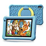 Arknikko SophPad X11 Kids Tablet 7 inch, Android 10 Quad-Core, 2 GB RAM 32 GB Storage, Kidoz Pre-Installed & Parent Control, IPS HD Display, WiFi Tablet, Dual Cameras, Kid-Proof Case (Light Blue)