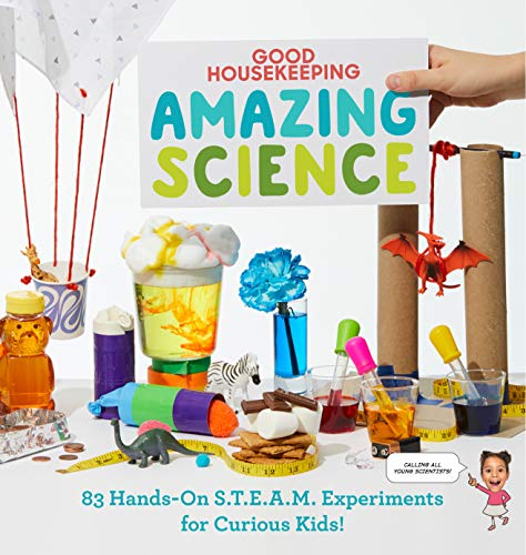 Compare Textbook Prices for Good Housekeeping Amazing Science: 83 Hands-on S.T.E.A.M Experiments for Curious Kids  ISBN 9781950785896 by Andrus, Aubre,Good Housekeeping,Rothman, Rachel