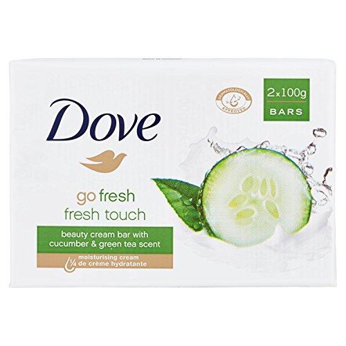 Dove Go Fresh Pepino & Té Verde Jabón en Crema - 2...