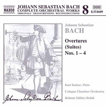 Bach: Overtures (Suites) Nos. 1-4