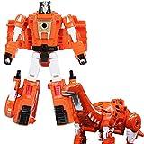 ZYYYYY Deformación juguete plástico ABS Deformación Robot Dragon Steel Slag Power