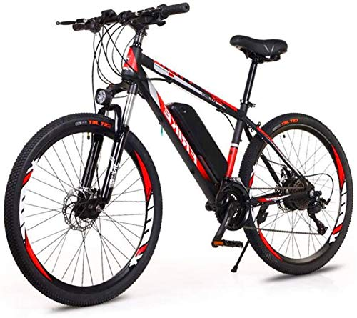 RDJM Ebikes Electric Bikes for Adult, 250W Ebikes 26' Bicycles All Terrain, 36V 10Ah Removable Lithium Ion Battery Mountain Bicycle for Men Women