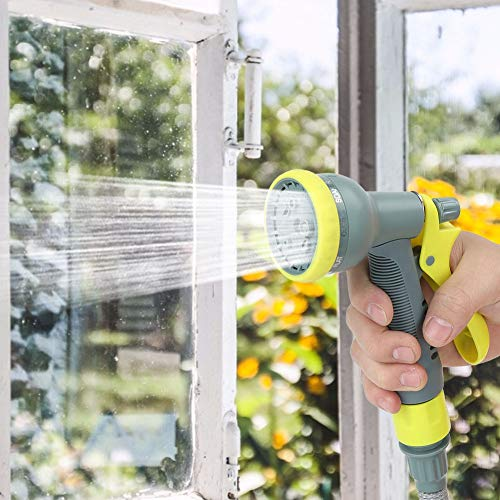 Oumefar Einstellbarer PVC-Materialschlauch Sprinkler Wasserrohrhalter für Gartenbewässerung