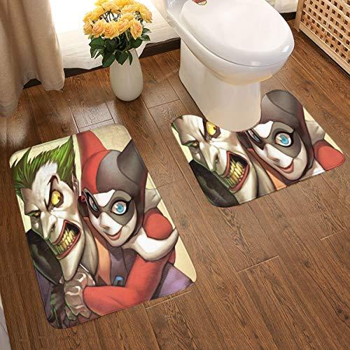 516dbYGN+RL Harley Quinn Bath Mats
