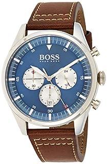 Hugo Boss Men's Analogue Quartz Watch with Leather Strap 1513709 (B07VFNM5K4) | Amazon price tracker / tracking, Amazon price history charts, Amazon price watches, Amazon price drop alerts