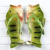 LINGZIA Fish Flops, Sandalias Unisex, Zapatillas de Verano para Hombres, Zapatillas de PVC para niños, Zapatillas de Playa para niños 3.5 GreenB