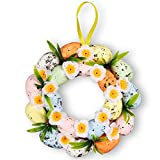 Whaline Easter Egg Wreath Floral...